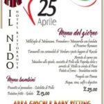 Pranzo del 25 Aprile?
